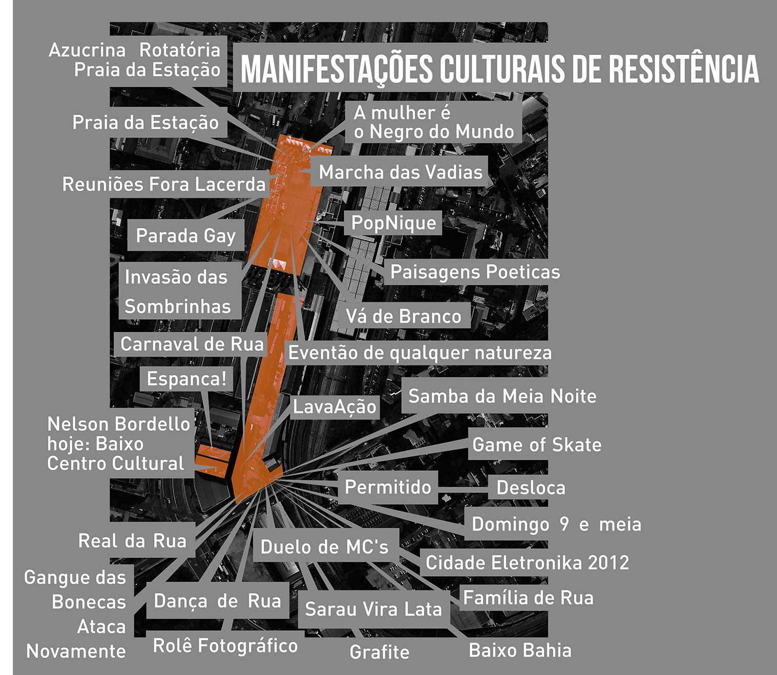 Mapa Movimentos Culturais de Resistência (até 2013)