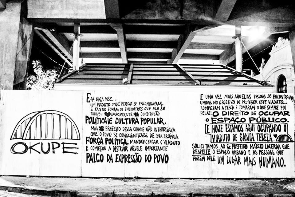 #ViadutoOcupado