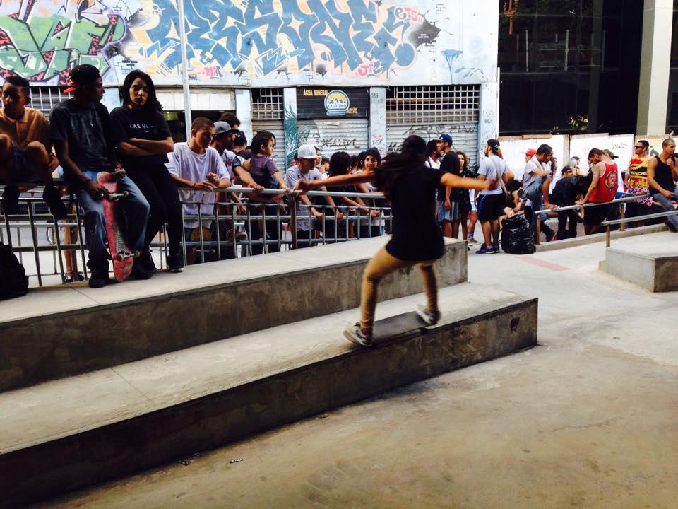 Inauguração da área de skate do Viaduto Santa Tereza - 28 de janeiro de 2017 #ViadutoOcupado #ViadutoLivre